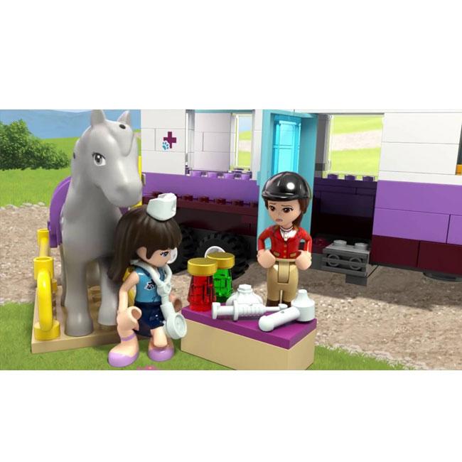 Đồ Chơi Xếp Hình - Trạm Khám Ngựa Di Động Thương Hiệu LEGO