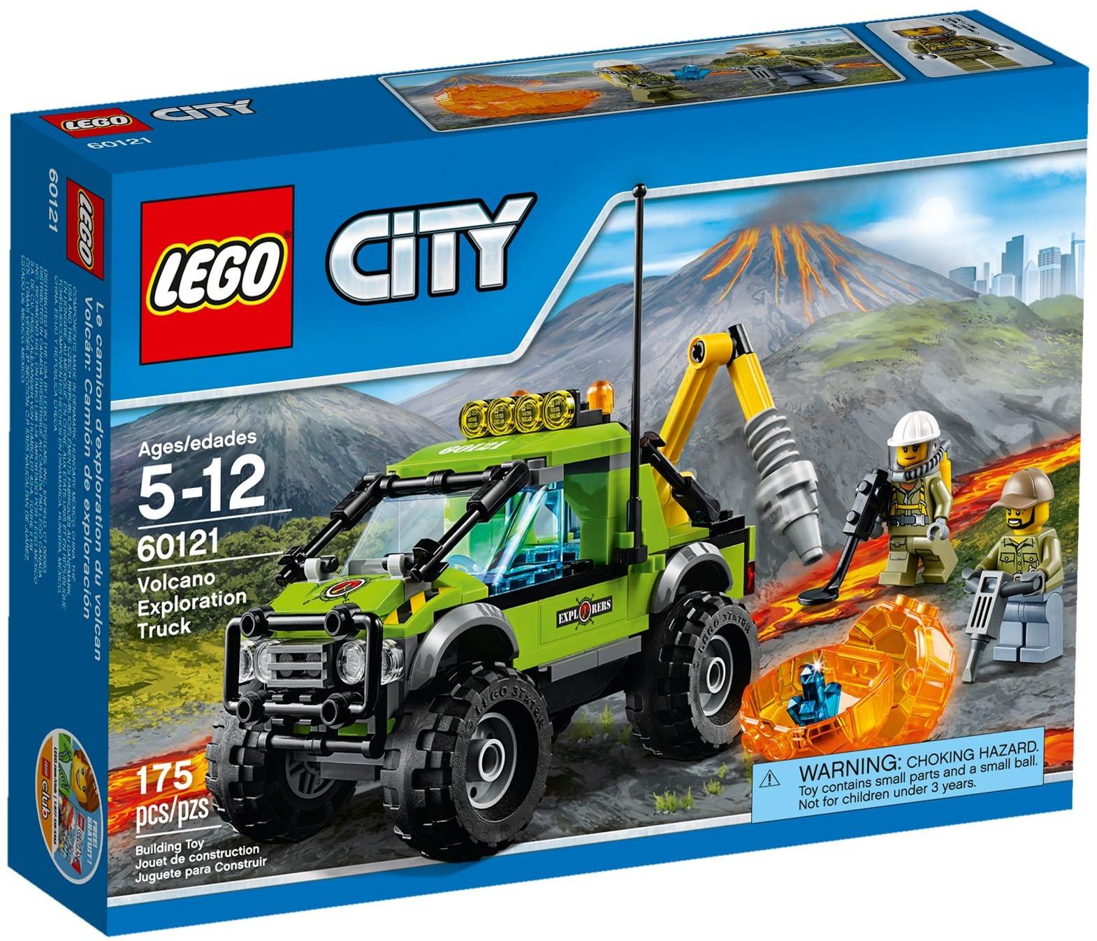 Đồ Chơi Xếp Hình - Xe khám phá núi lửa Thương Hiệu LEGO