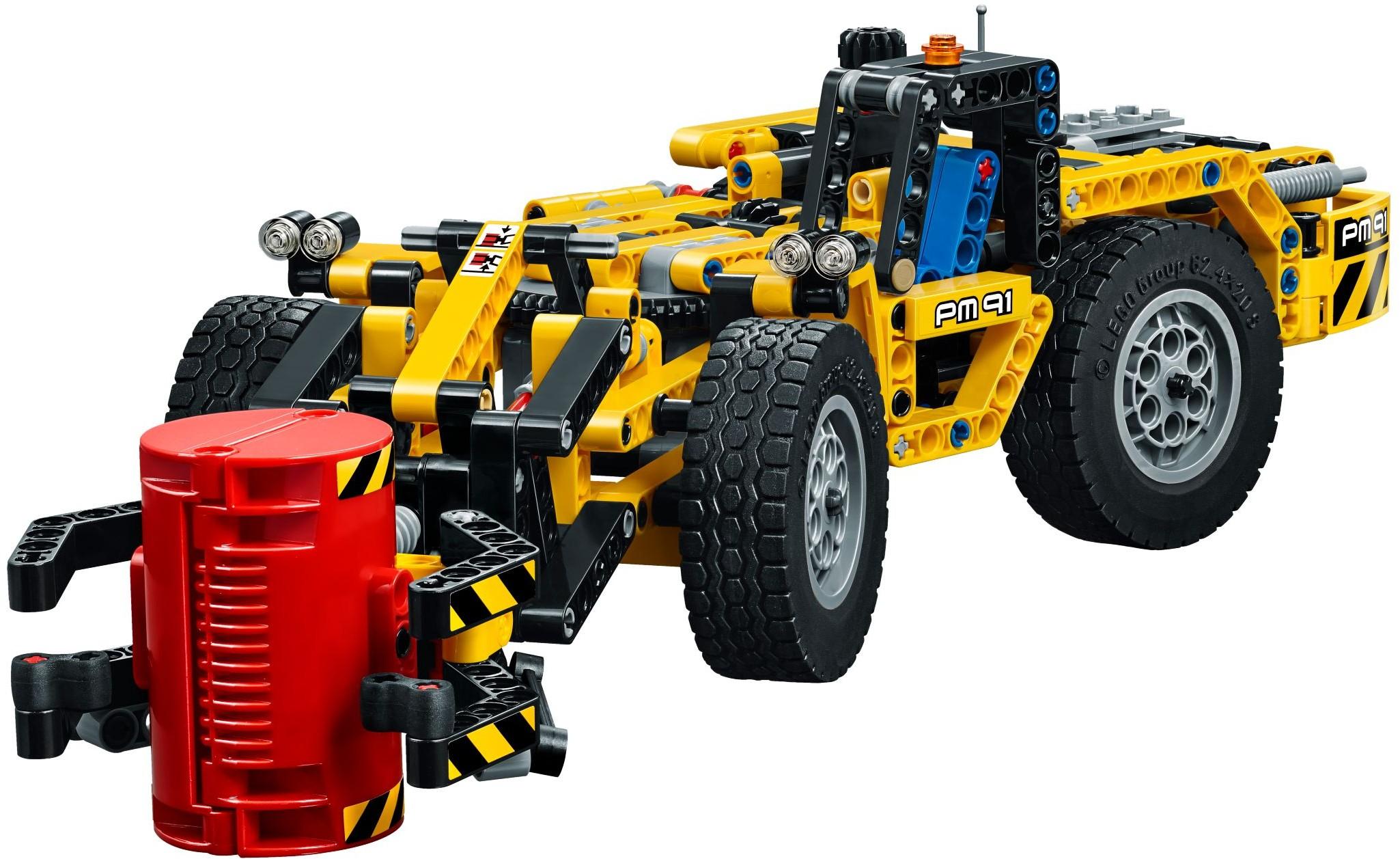 Đồ Chơi Xếp Hình - Máy Xúc Công Trình Thương Hiệu LEGO