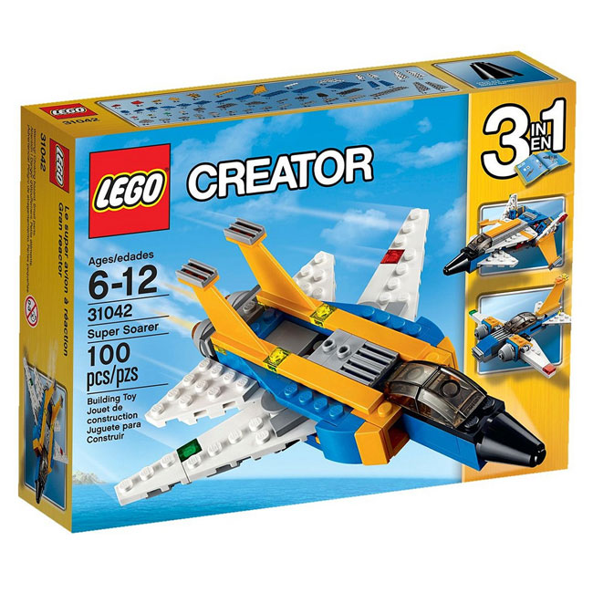 Đồ Chơi Xếp Hình - Siêu Máy Bay Phản Lực Thương Hiệu LEGO