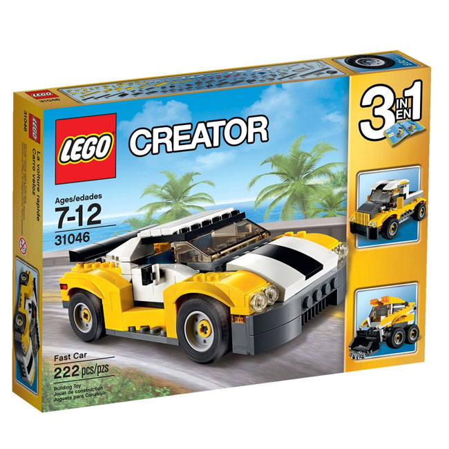 Đồ Chơi Xếp Hình - Siêu Xe Đua Thương Hiệu LEGO