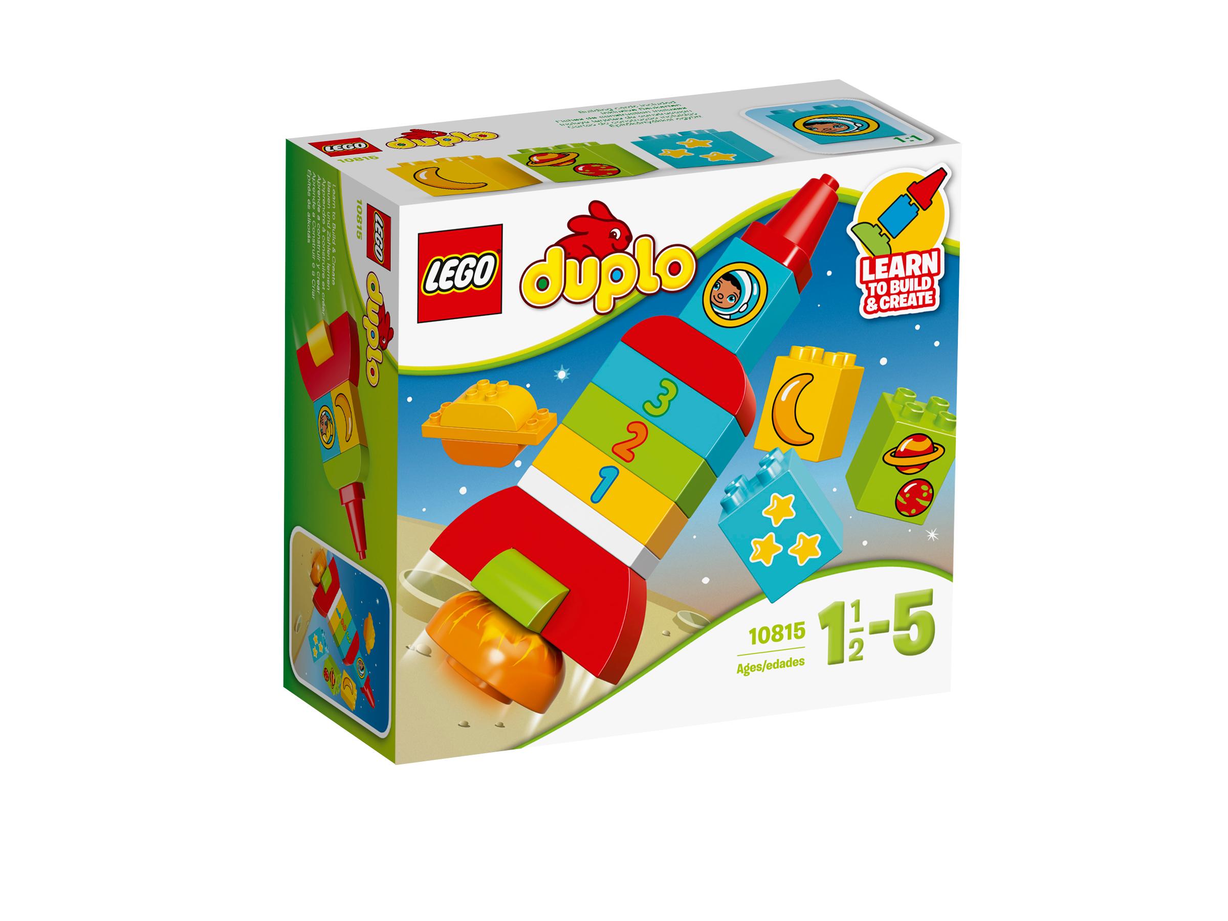 Đồ Chơi Xếp Hình - Tên Lửa Học Số Đầu Tiên Của Bé Thương Hiệu LEGO
