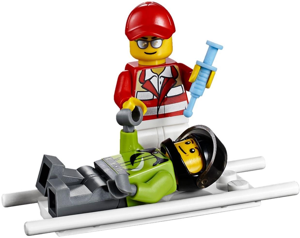 Đồ Chơi Xếp Hình - Máy Bay Cứu Hộ Thương Hiệu LEGO