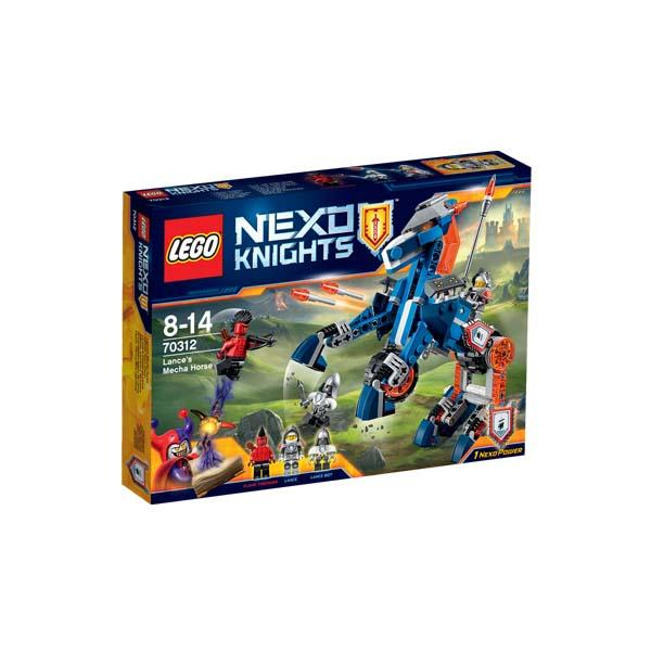 Đồ Chơi Xếp Hình - Ngựa Máy Chiến Đấu Của Lance  Thương Hiệu LEGO