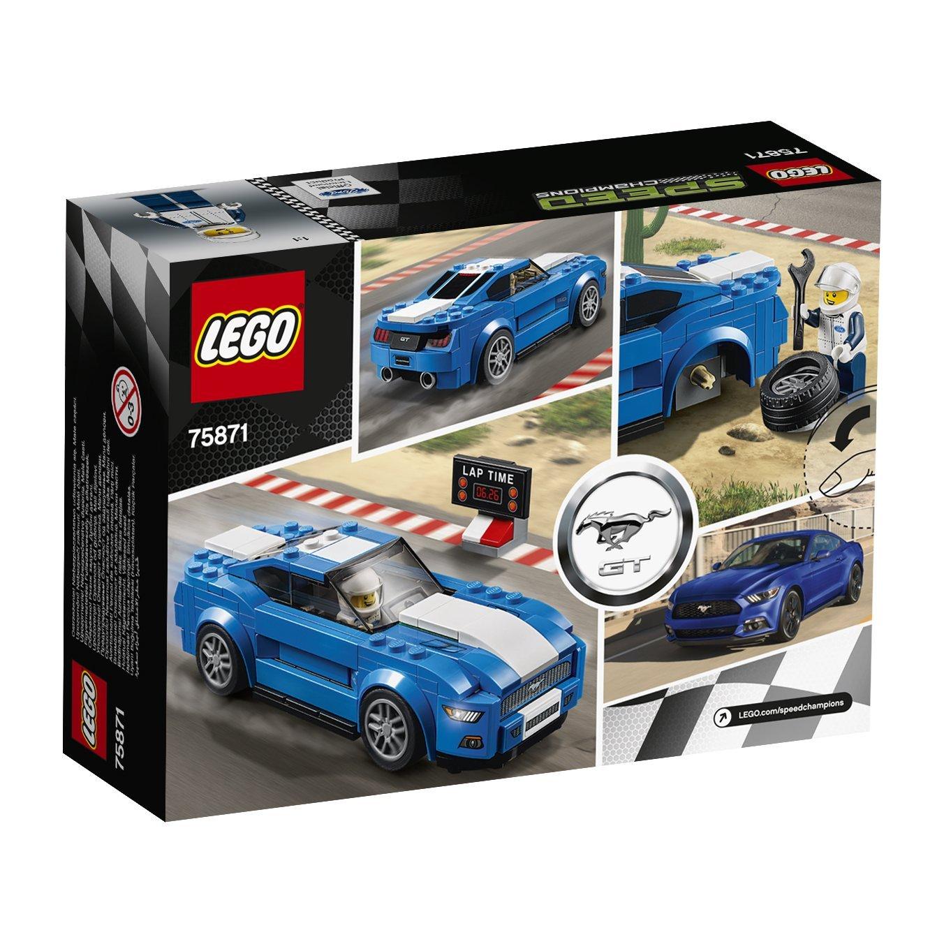 Đồ Chơi Xếp Hình - Xe Đua Ford Mustang Gt Thương Hiệu LEGO