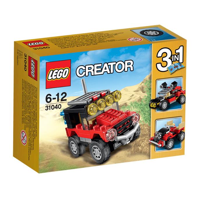 Đồ Chơi Xếp Hình -  Xe Đua Sa Mạc Thương Hiệu LEGO