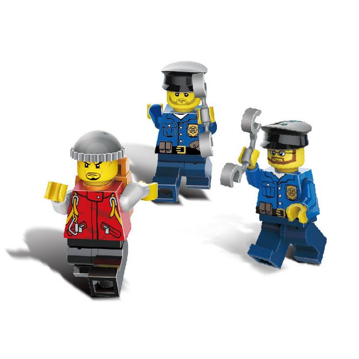 Đồ Chơi Lego Trạm Cảnh Sát GUDI 9320