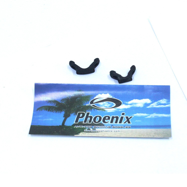 Kính bơi phoenix chuyên nghiệp Hàn Quốc màu đen PN411BK