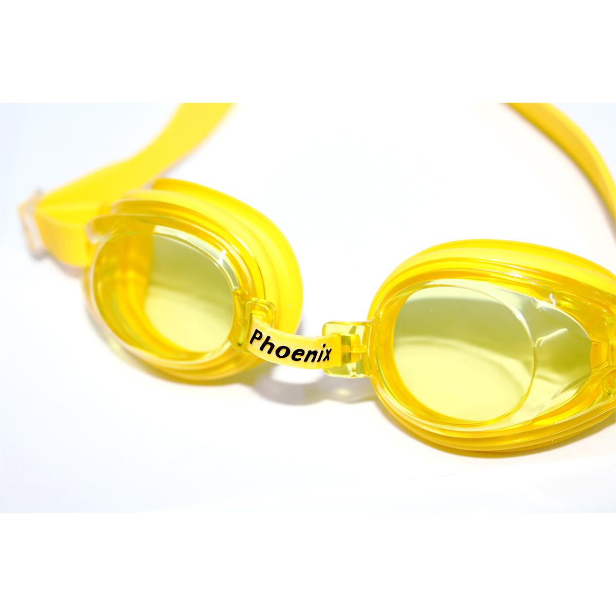 Kính bơi trẻ em Phoenix P507 màu vàng P507YL
