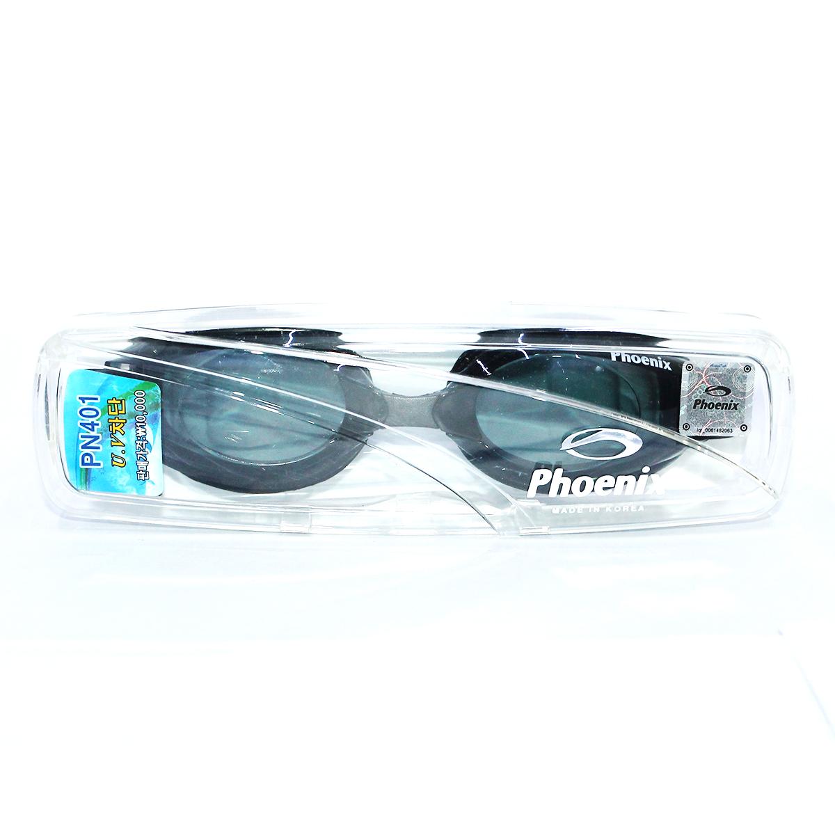 Kính bơi Phoenix PN401 màu đenP401BK