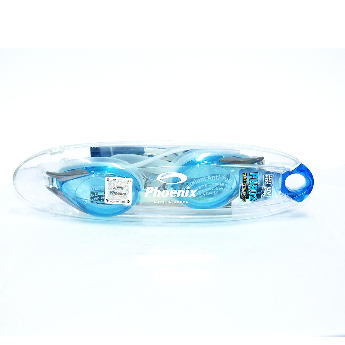 Kính bơi Phoenix Chính Hãng Hàn Quốc PN902 màu xanh tươi P902BL