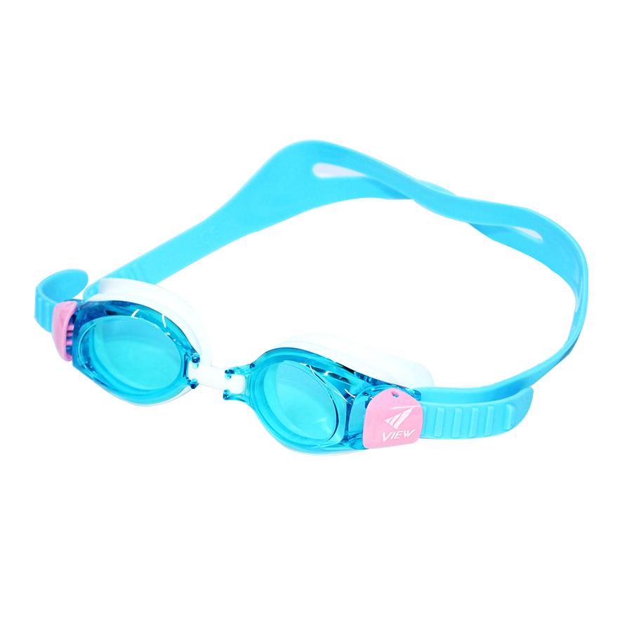 Kính Bơi trẻ em hàng nhật View Màu Aqua xanh Nhạt V730AQ