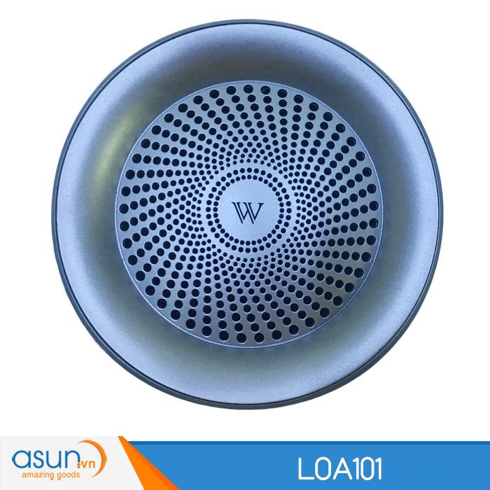 Loa Bluetooth Mini Speaker 101 Silver