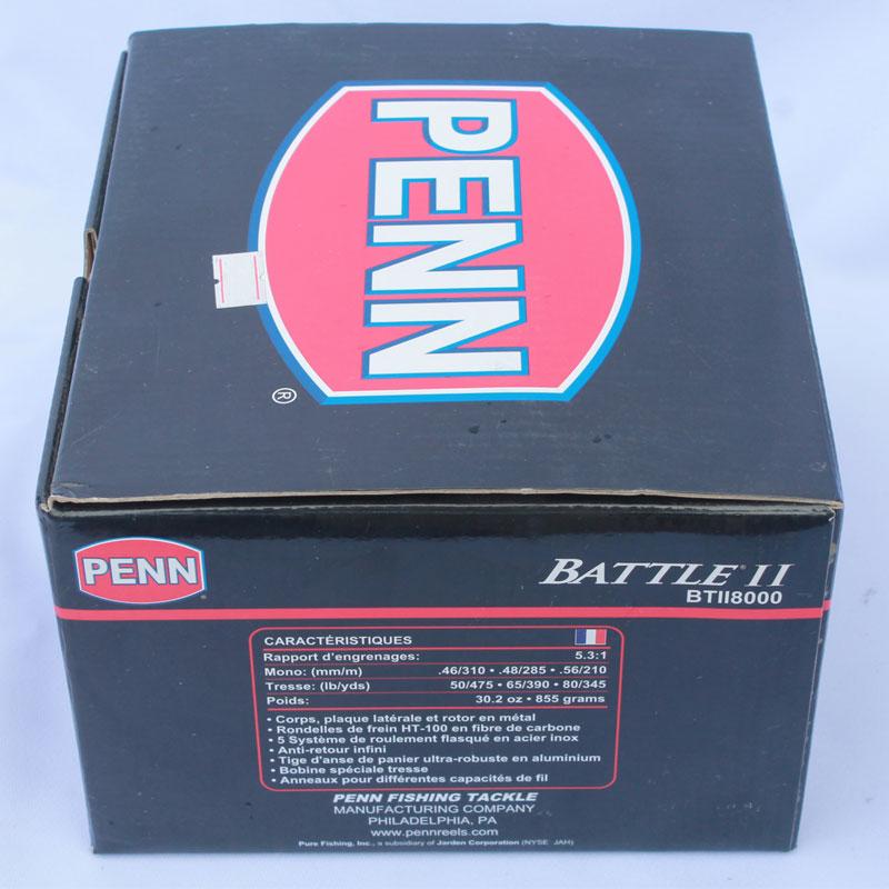 Máy Câu Cá Penn Battle II 8000 BH 1 Năm Chính Hãng