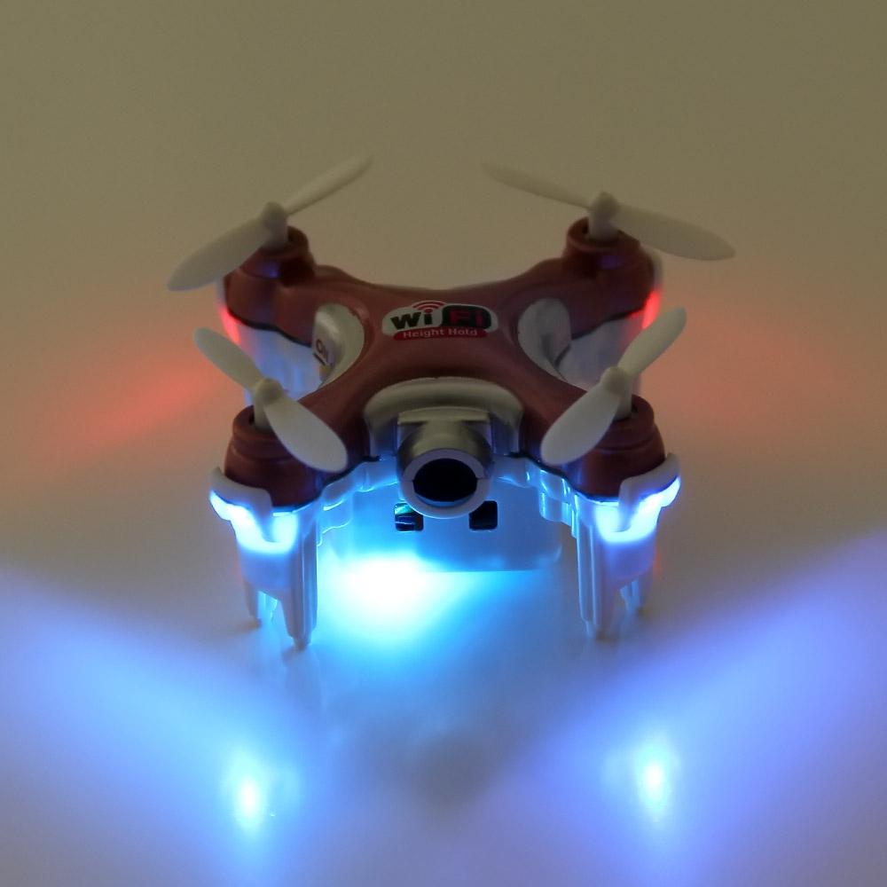 Máy Bay 4 Cánh UFO Điều Khiển CX-10WD Mini Wifi FPV Camera Cheerson