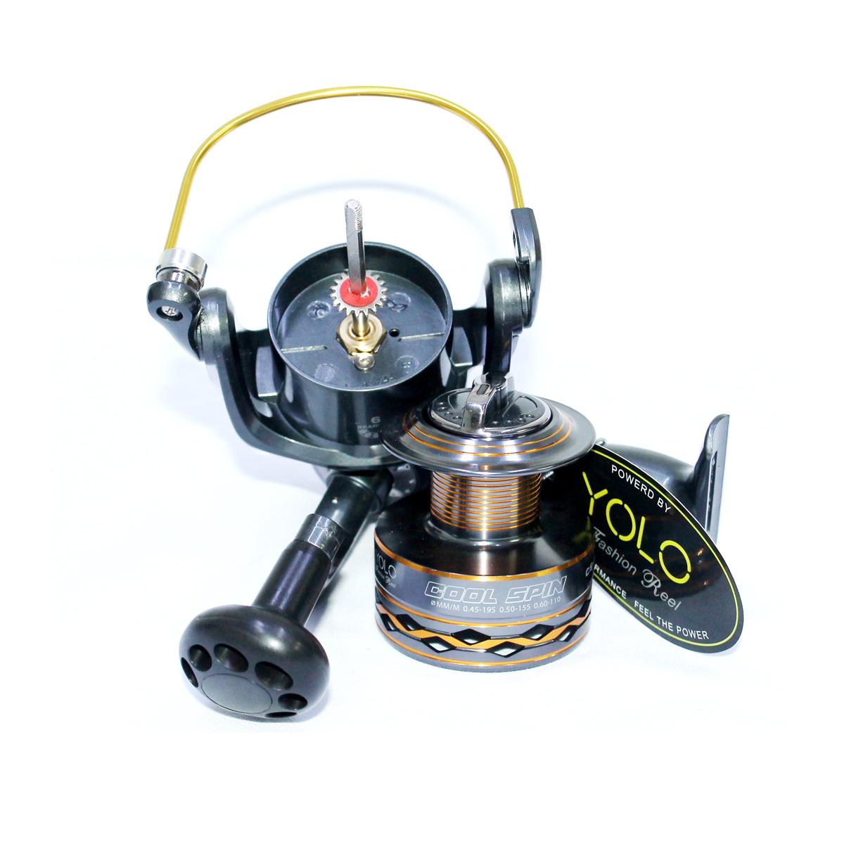 Máy Câu Cá Yolo Cool Spin CS6000 Chính Hãng Bảo Hành 3 Tháng