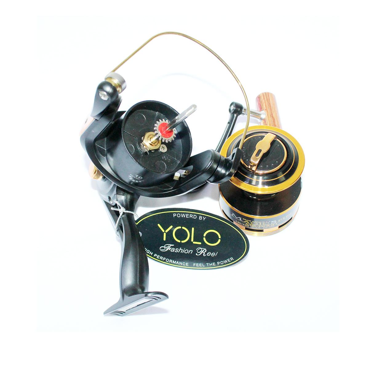 Máy Câu Cá Yolo Magic Spin MS6000 - Chính hãng bảo hành 3 tháng