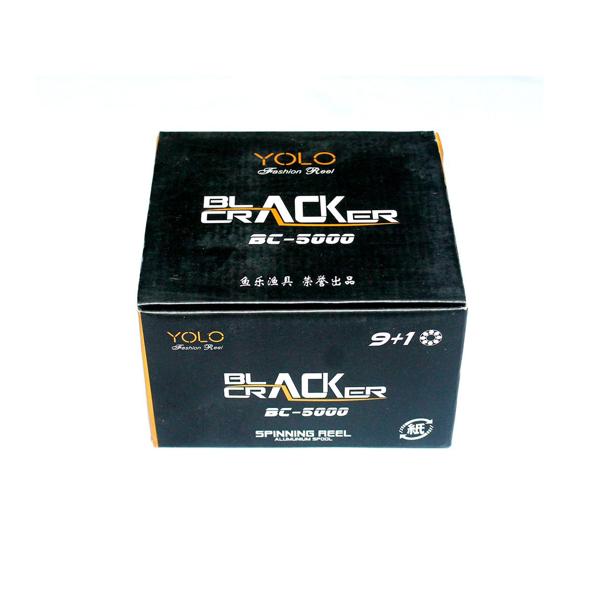 MÁY CÂU CÁ YOLO Black Cracker BC5000 -  BH 3 Tháng