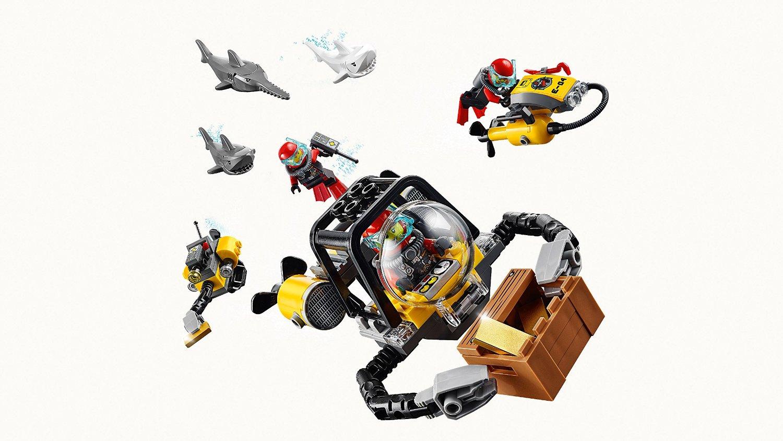 Đồ Chơi Xếp Hình Tàu Thăm Thương Hiệu LEGO