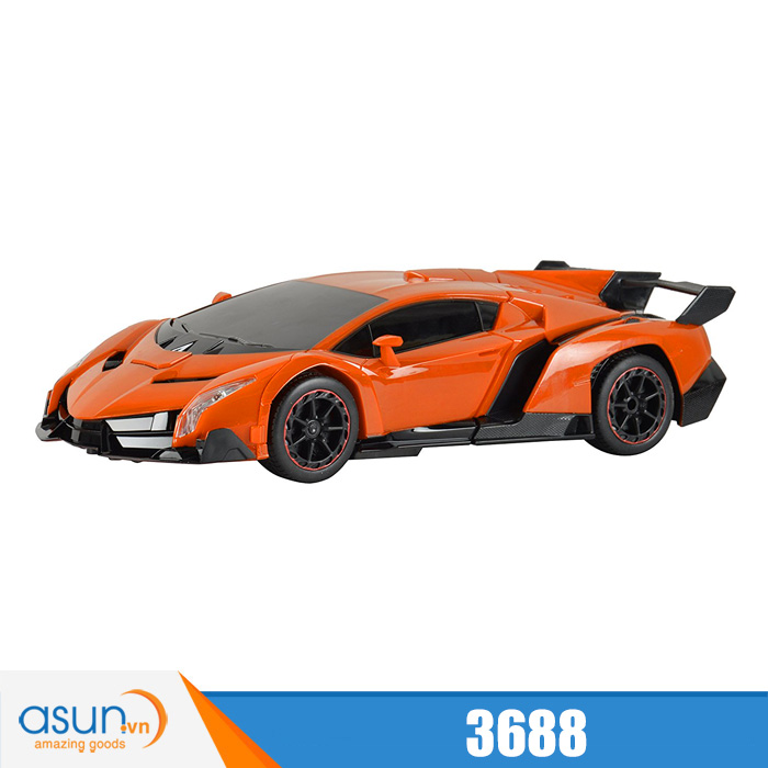 Xe Điều Khiển Robot Biến Hình Lamborghini 3688
