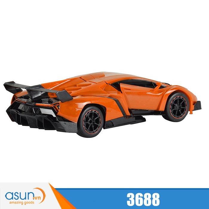 Xe Điều Khiển Biến Hình Lamborghini Thành Robot Transformers 3688
