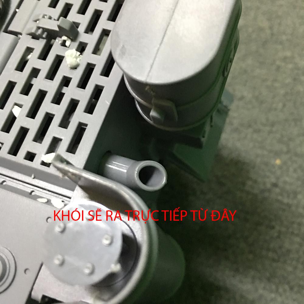 Xe Tank Điều Khiển Từ Xa Bắn Đạn và Có Khói 2.4Ghz 789-3