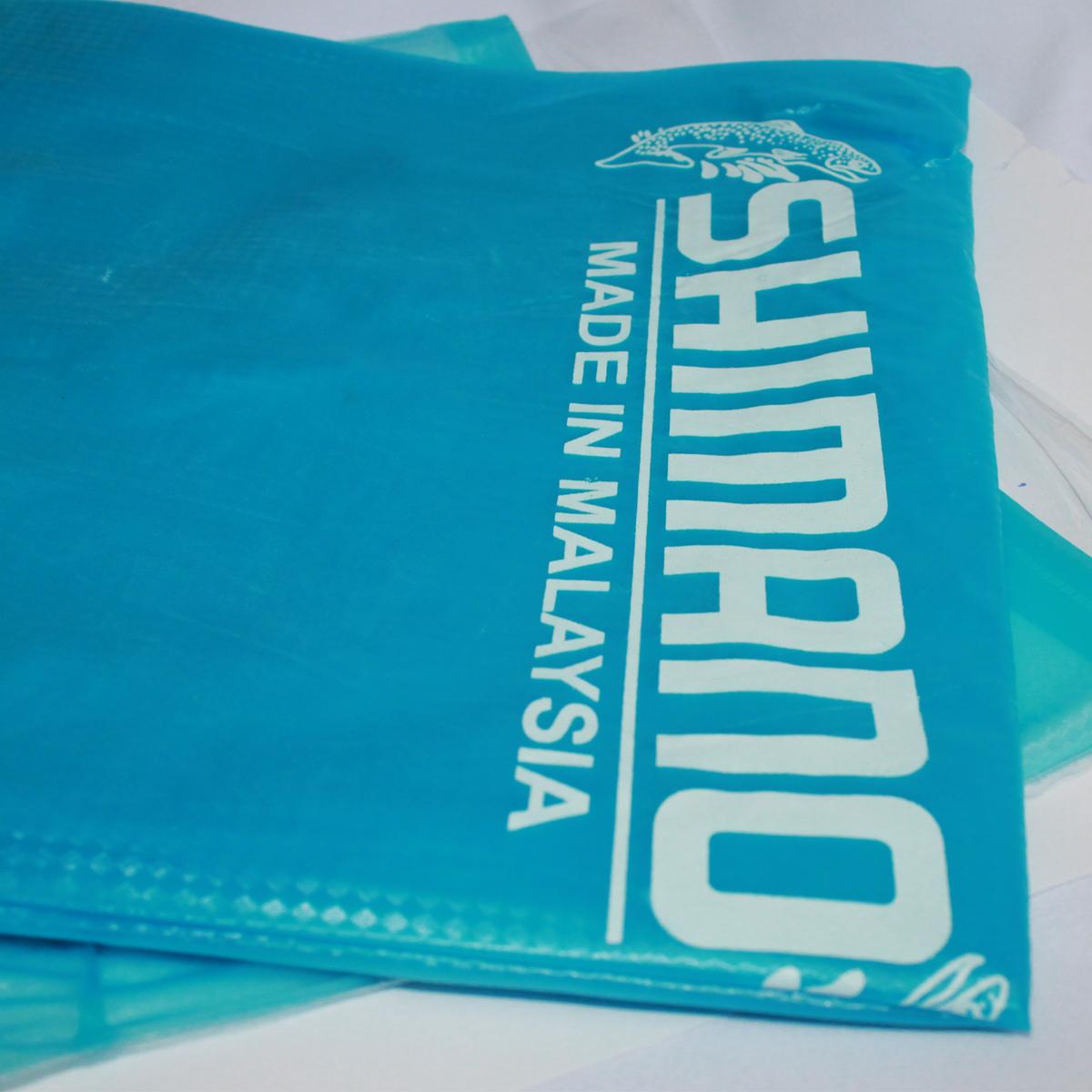 Áo Mưa Chính Hãng Shimano màu xanh biển