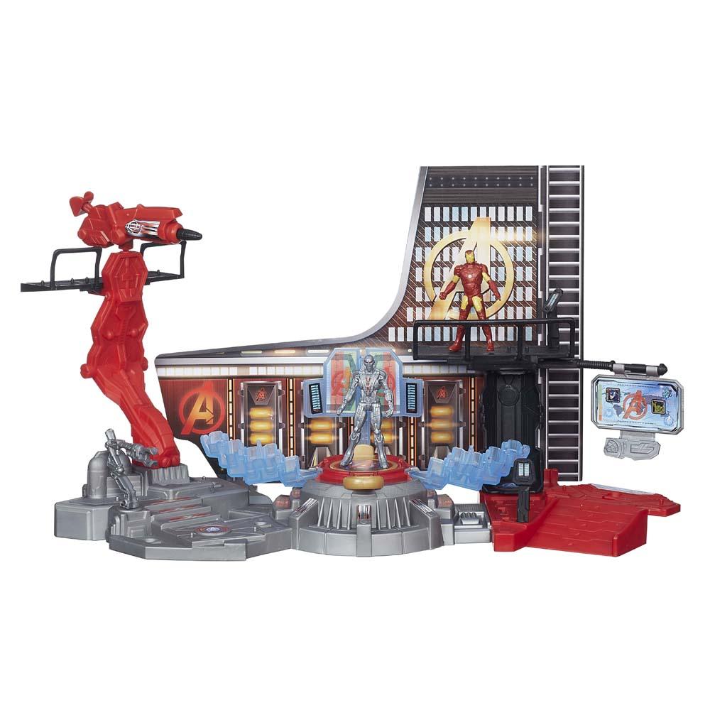 Bộ Mô Hình Phòng Chiến Đấu Iron Man Và Ultron AVENGERS