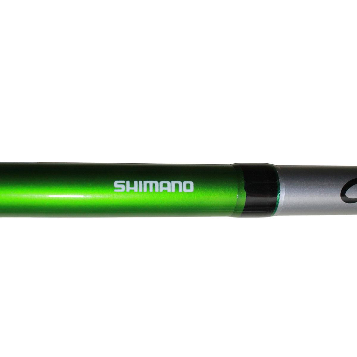 Cần Câu Máy Hai Khúc Shimano Cruzar AX 2902 Màu xanh lá 2m7