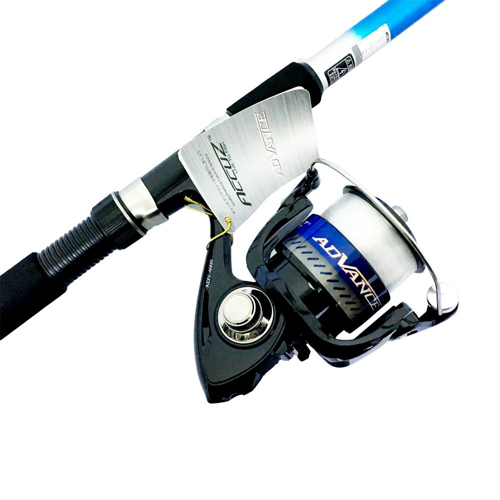 Bộ Cần Câu Cá Rút Gw 2m4 và Máy Câu Cá ADV-4000 - CBN01