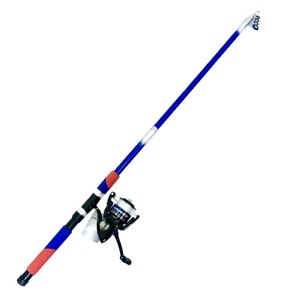 Bộ CầnCâu CáRút Double Fish 2m7 và Máy Câu Cá ADV-4000 - CBN07