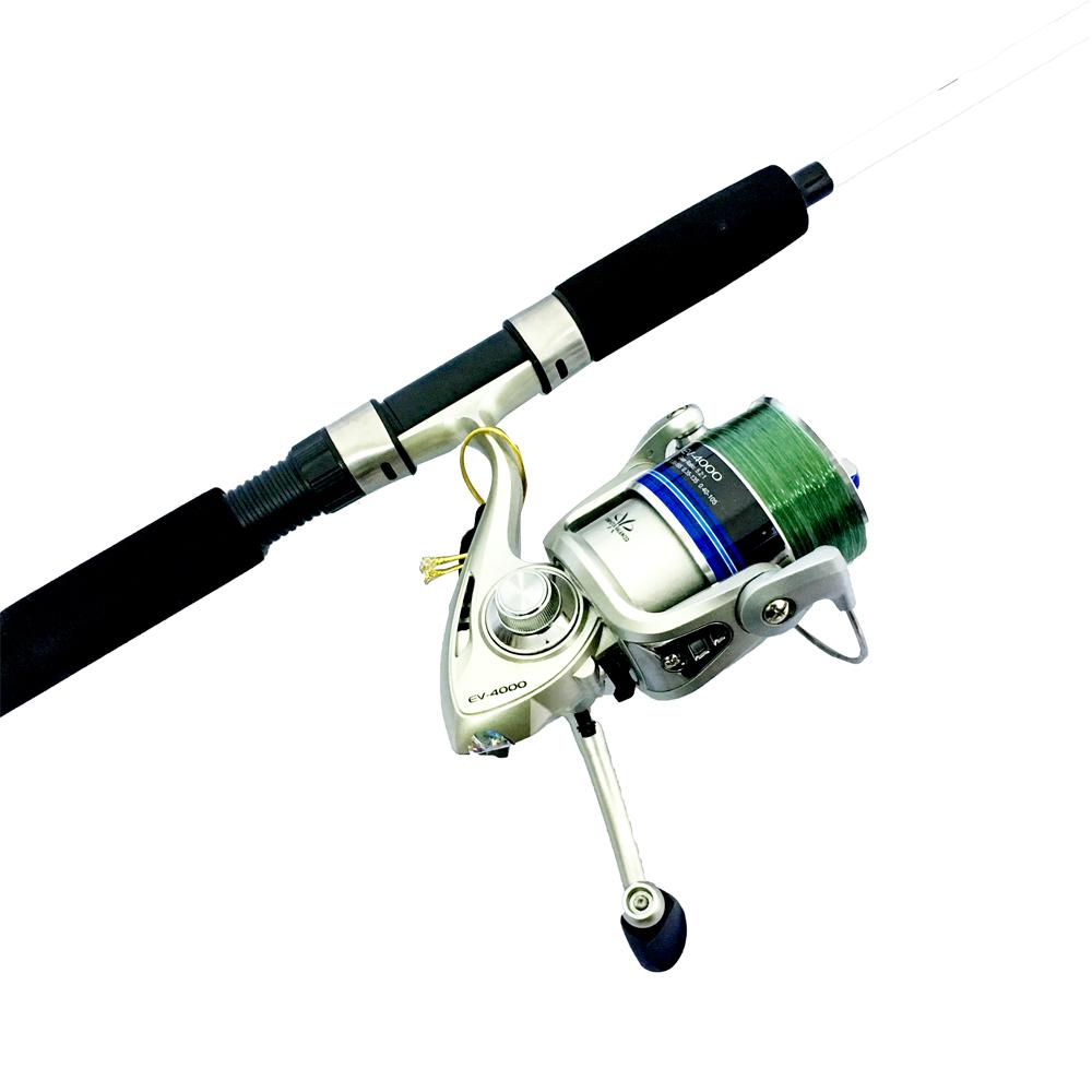 Bộ CầnCâu Cá đặc trắng fishing 1m8 và Máy Câu Cá EV-4000  - CBN48