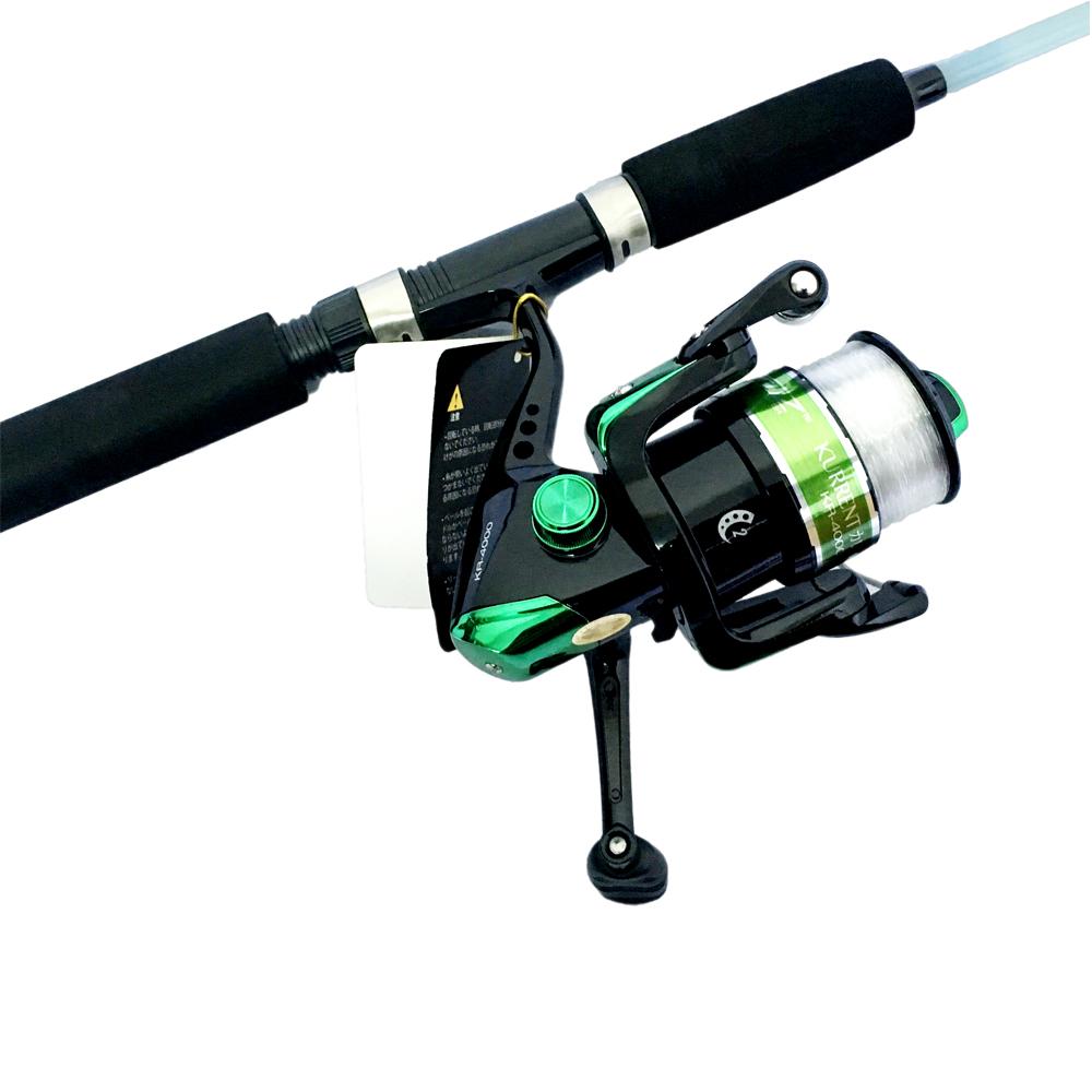 Bộ CầnCâu Cá Đặc Trong Fishing 2m1 và Máy Câu Cá KR-4000 - CBN55