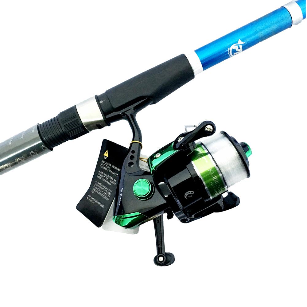 Bộ CầnCâu Cá Rút Fire 3m và Máy Câu Cá KR-4000 - CBN57