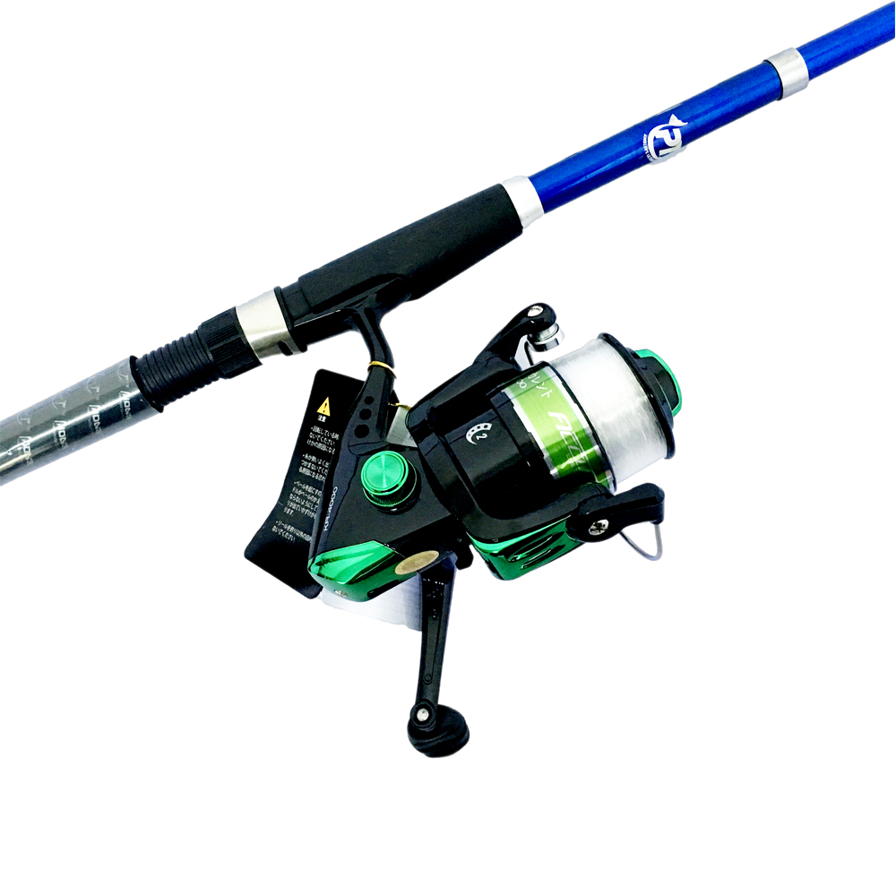 Bộ CầnCâu Cá Rút Solace 2m1 và Máy Câu Cá KR-4000 - CBN60