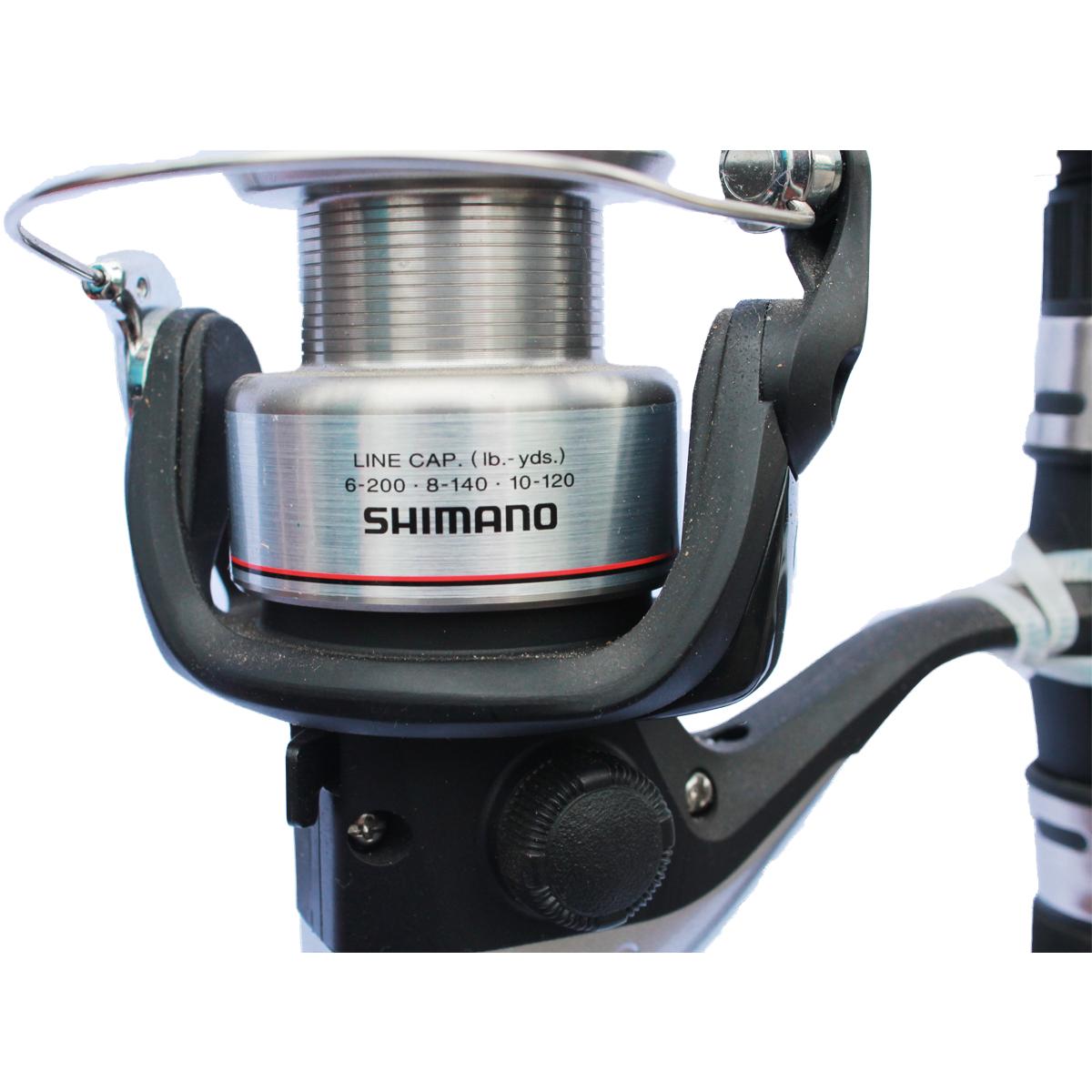 Trọn Bộ Cần Câu Shimano Ax 2702 Và Máy Câu Shimano FX 2500FB