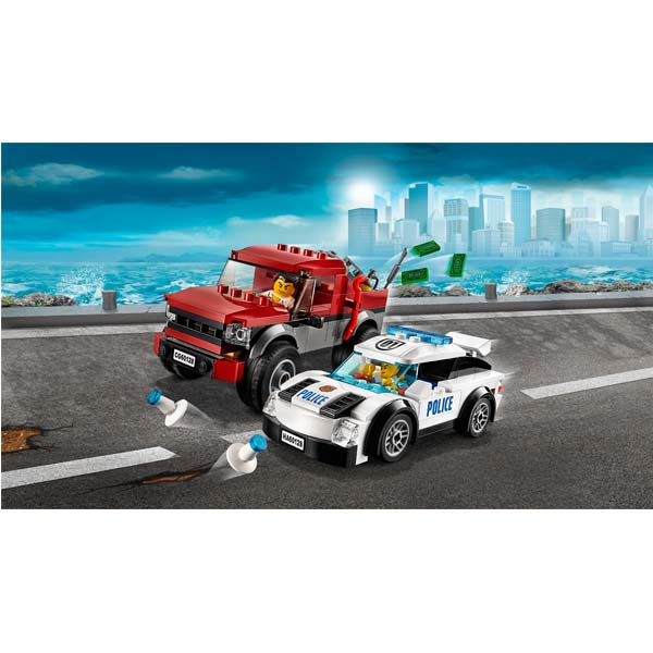 Đồ Chơi Lego Cho Bé Trai-Cảnh Sát Truy Đuổi