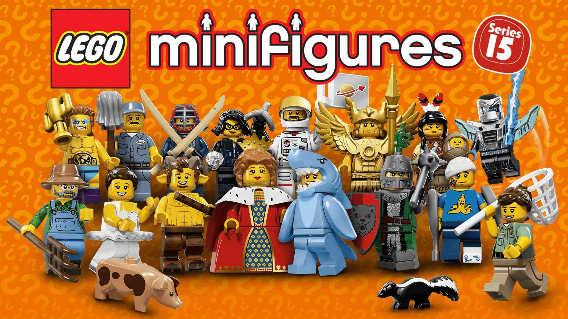 Đồ Chơi Xếp Hình Nhân Vật LEGO số 15 Thương Hiệu LEGO