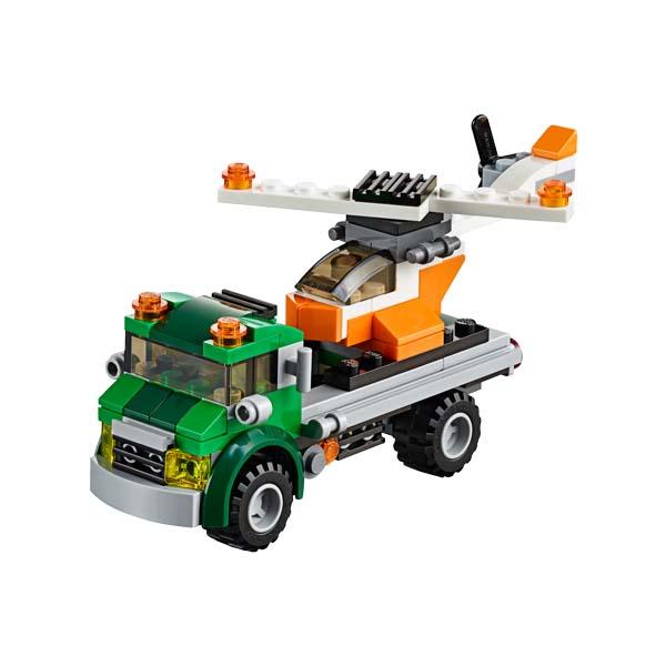 Đồ Chơi Xếp Hình Xe Vận Chuyển Trực Thăng Thương Hiệu LEGO