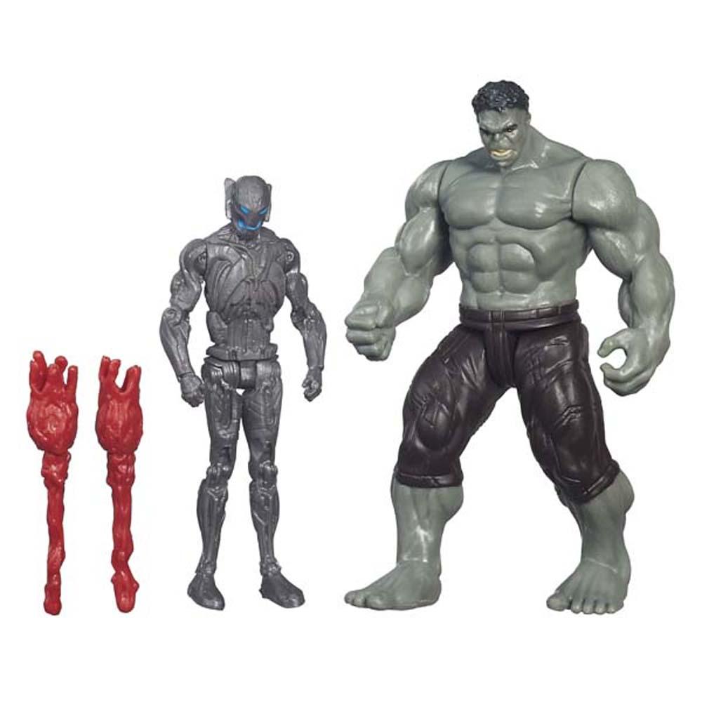 Mô Hình Rampaging Hulk và Sub Ultron 012 AVENGERS B4639