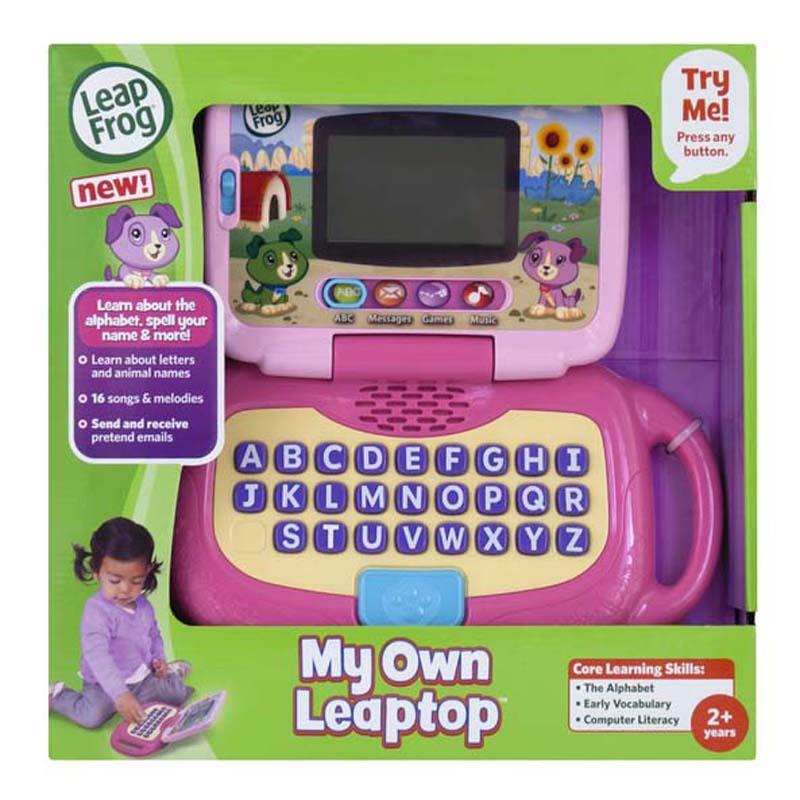 Đồ Chơi Cho bé - Laptop Màu hồng Leapfrog 19167-99905