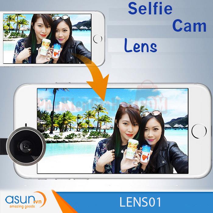 Chụp Hình với Red Lens Selfie