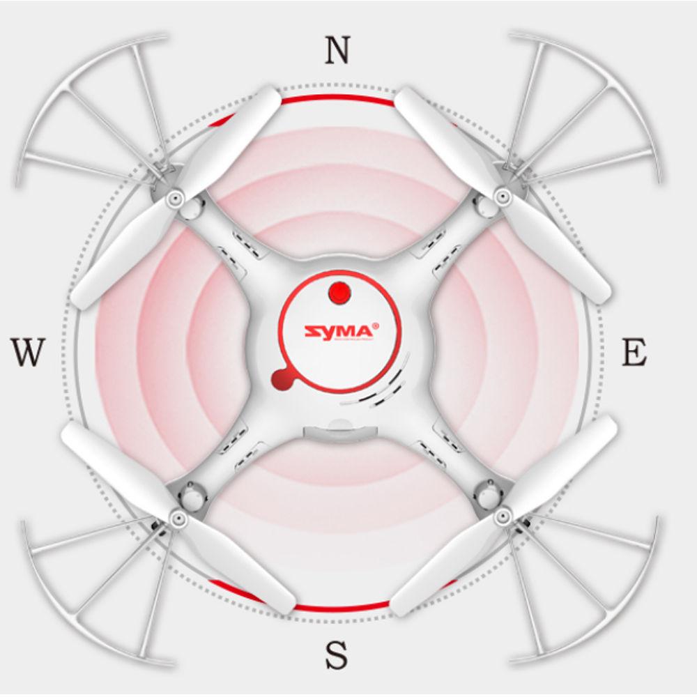 Máy Bay 4 Cánh UFO Điều Khiển Syma X5UC Camera 6 axis Gyro