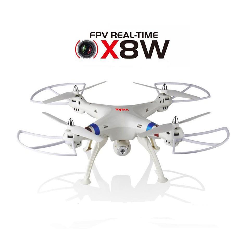 Máy Bay UFO Điều Khiển Syma X8W Wifi FPV Quadcopter