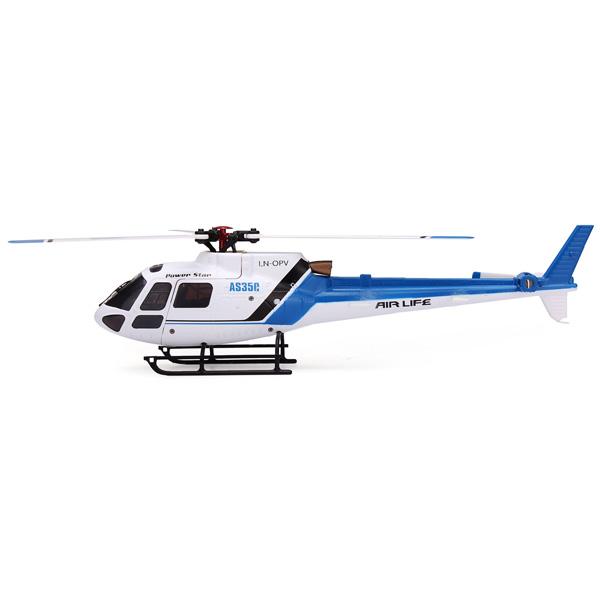 Máy bay trực thăng điều khiển 6 kênh AS350-01 Brushless