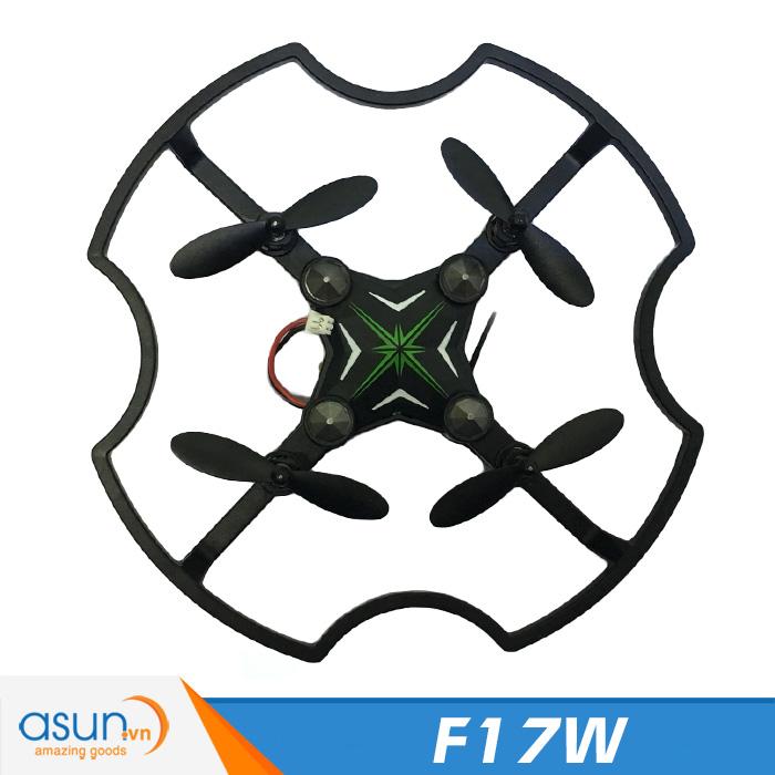 Máy Bay Điều Khiển UFO 4 Cánh Mini F17W Camera Wifi FPV Tự Giữ Độ Cao
