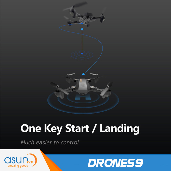 Máy Bay Điều Khiển Gấp Cánh Drone S9 Eagle Pro Quadcopter Wifi Camera