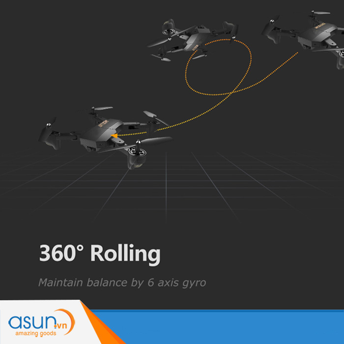 Máy Bay Điều Khiển Gấp Cánh Drone S9 Quadcopter Wifi Camera