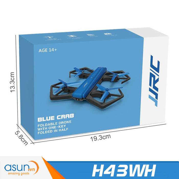 Máy Bay Điều Khiển Từ Xa JJRC H43WH Camera Wifi Gấp Cánh