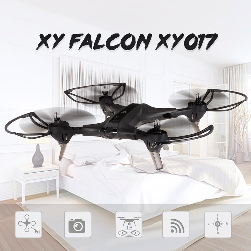 Máy Bay Điều Khiển Từ Xa Falcon XY017 Camera Wifi